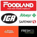 Foodland, Sobeys, Safeway, Price Chopper, FreshCo, IGA